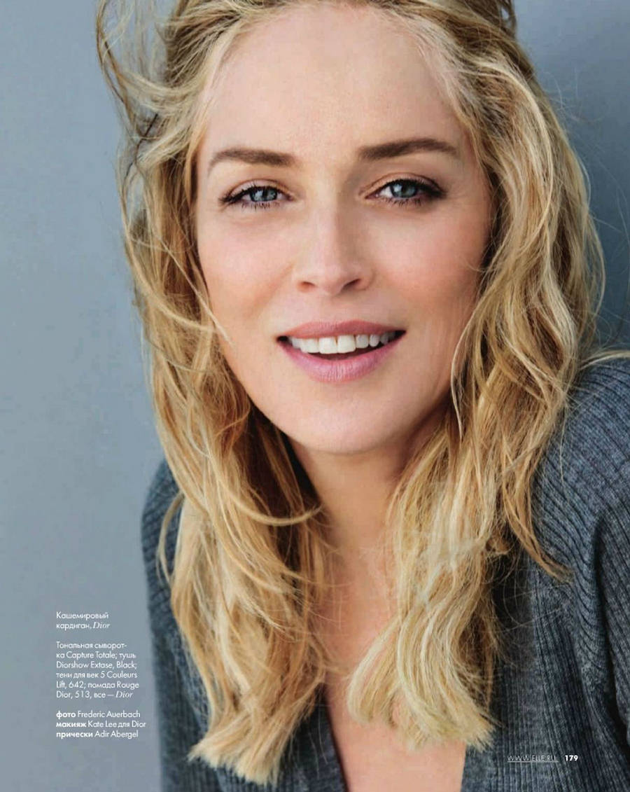 "Journal de Mode- Sharon Stone Opens Up About Her Life Today, ""If I'm"